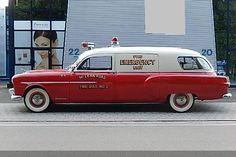1951 Packard 200 Fire Dept. Ambulance