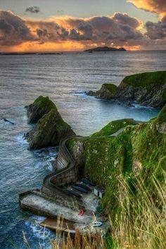 Dunquin, Dingle peninsula, Ireland