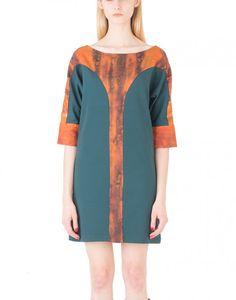 EON Paris Winged Shaped Sleeve Dress - Women's #Dresses