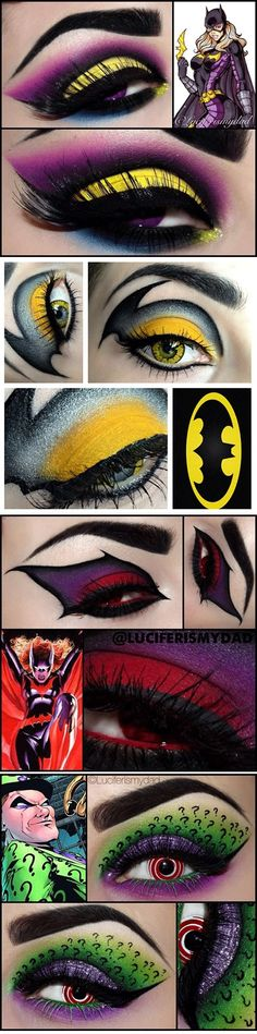 Comics Inspired Eye Make-Up