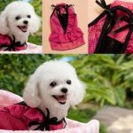 Cute and Sexy strap pet dog Polka Dot dress