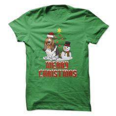 Merry Christmas - Christmas Basset Hound! T-Shirts, Hoodies, Sweaters