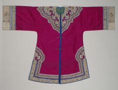 Qing dynasty clothing - a jacket for Halmeoni?
