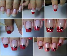 23 ideas for fails art disney mickey Nail Art Designs Videos, Nail Designs, Nagel Bling, White Nail Art, Disney Nails, Nagel Gel, Stylish Nails, Nail Tutorials, Cookies Et Biscuits