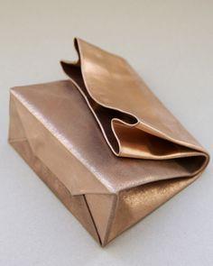 ADAISM — SACO DE PAPEL PEQUENO/+ copper block