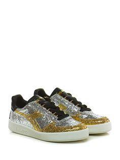 DIADORA Heritage - Sneakers - Donna - Sneaker in glitter con suola in  gomma… Sneaker 91929a8df45