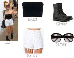"""Miley Cyrus"" by butterflyhome on Polyvore"
