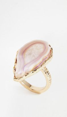 Large Agate Ring