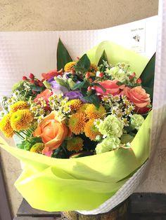 【敬老の日に贈る、カラフル&華やかな花束】