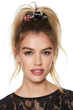 Scrunchies are back! So says Kayleen Schaefer at Lucky http://www.luckymag.com/beauty/2014/07/how-to-wear-a-scrunchie