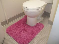 Toilet Rugs - 25 Biggest Decorating Mistakes and Solutions on HGTV. Unsightly clutter and disorganization not only contributes to a stressful life but also ruins the entire look of a space.