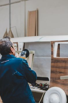 In the Wood & Finishes unit, we have our manufacturers shaping wood and our special finishes division able to provide varnishing, lacquering, powder coating and much more. Powder Coating, Furniture Manufacturers, Quality Furniture, Innovation Design, Division, Branding Design, Woodworking, The Unit, Carpentry