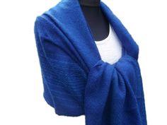 Stolen - Handgewebte Stola aus Mohair - ein Designerstück von…