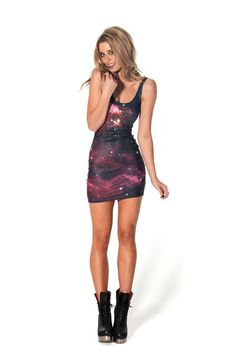 Galaxy Pink Dress › Black Milk Clothing (XS)