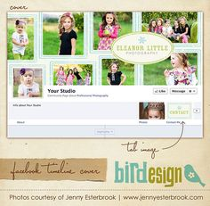 Facebook custom timeline cover  E3459 by birdesign on Etsy, $8.00