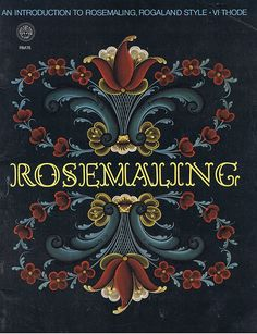 Black and White Rosemaling Patterns   Rosemaling Introduction How To Learn To Do Floral Painting Craft ...