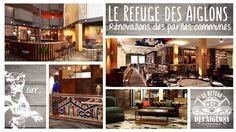 """Résultat de recherche d'images pour """"le refuge des aiglons rénovations"""" Chamonix, Refuge, Images, Mont Blanc, Modern, Search"""