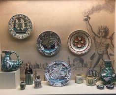 """ICARO - ΙΚΑΡΟΣ: The Factory of Rhodes 1928-1988"" – ΕΓΚΑΙΝΙΑ ΣΗΜΕΡΑ 27/09 στις 20:00 – Μουσείο Μπενάκη, Κουμπάρη 1  H ιστορία μιας εταιρείας που για πολλές δεκαετίες είχε συνδέσει το όνομά της με τη Ρόδο, βασισμένη στην έρευνα και τη συλλογή του Γιάννου Ιωαννίδη  -------------------------------... Greek Islands, Greece, Tiles, Decorative Plates, Pottery, Indoor, Ceramics, Home Decor, Art"
