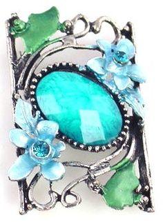 1 unique pendant style 2 hole slider bead 8282 - Mobile Boutique