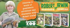 Win a Family Pass to Australia Zoo + Dinosaur Hunter Books