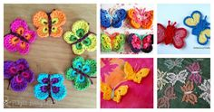 We have compiled a collection of simple crochet butterfly free patterns for you to get started. They are awesome and easy patterns even for beginners.