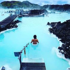 the blue lagoon in iceland! Surrounded with amazing nature, the Blue Lagoon is an oasis of relaxation Blue Lagoon by Discover the most hidden places on our travel map! Vacation Places, Places To Travel, Places To See, Travel Destinations, Hidden Places, Honeymoon Places, Vacation Travel, Family Vacations, Cruise Vacation