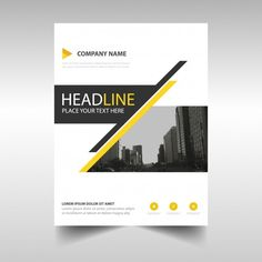Free Business Broshure Templates by Freepik and Flaticon Design Page, Book Design Layout, Book Cover Design, Corporate Design, Business Design, Business Leaflets, Magazine Ideas, Company Profile Design, Folders