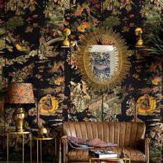 Eclectic Design, Eclectic Decor, Vintage Interior Design, Asian Interior Design, Eclectic Living Room, Bar Restaurant Design, Maximalist Interior, Architecture Restaurant, Of Wallpaper