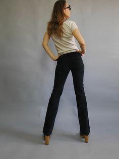 Vintage Karl Lagerfeld pants Vintage 90/'s trousers Vintage bananas Vintage multicoloured women/'s pants. Made in Western Germany