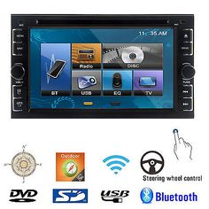 """39802 electronics Double 2Din 6.2"""" Car Stereo DVD CD MP3 Player HD In Dash Bluetooth Ipod TV Radio  BUY IT NOW ONLY  $114.99 Double 2Din 6.2"""" Car Stereo DVD CD MP3 Player HD In Dash Bluetooth Ipod TV Radio..."""