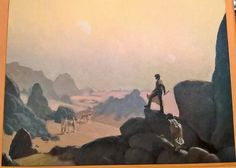Armand Cabrera - The Golden Path - Dune, in Tim F's Illustration art - Unpublished/Personal paintings Comic Art Gallery Room Dune Series, Dune Art, Science Fiction Art, Sci Fi Art, Comic Art, Art Gallery, Illustration Art, Fantasy, Fantasia