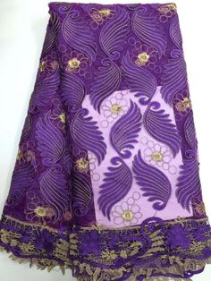 Find More Lace Information about JSDSR 4 Purple African French Net Lace Fabric,Embroidered African Guipure French Lace Fabric whole sale,High Quality fabric lot,China fabric fabric Suppliers, Cheap embroidered lace dress fabric from Freer on Aliexpress.com