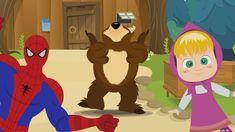 CHU CHU UA Baby Dance Masha Orso e Spiderman - Compilation di Canzoni pe...