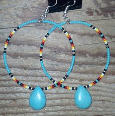 Hey, I found this really awesome Etsy listing at https://www.etsy.com/listing/176007441/native-american-style-beaded-teardrop
