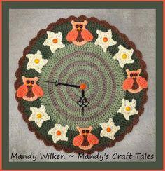 Owl Clock Pattern