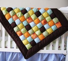 puff quilts - I want to make one just like this!