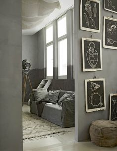 Usually color grey promotes modernness and simplicity. But this shade can also evoke a rustic and nostalgic ambiance.