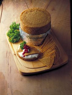 Gamalost: grainy and salty. Texture-wise the most unique cheese I have tried.