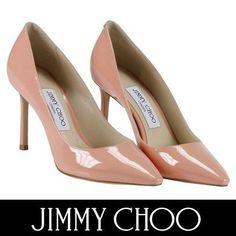 Jimmy Choo パンプス ジミーチュウ セール! ROMY 85 ヌーディーなピンクが上品