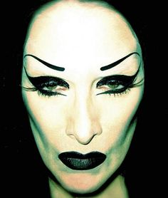 Photo by Kristofer Buckle, Diamanda Galas, Kristofer Buckle, Goth Bands, She Walks In Beauty, Louise Brooks, Gothic Models, Victorian Goth, Joy Division, Models Makeup