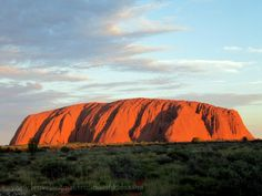Uluru - used to be known as Ayres Rock.  You cannot miss this iconic Monolith found in Australia's Northern Territory.  You will be spiritually moved by it.  AND want to take so many photos in every light trying to capture it's essence.  An absolute MUST SEE