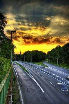 The Autobahn - Bonn, Germany