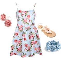 """""""summer outfit 4"""" by herky10 on Polyvore"""