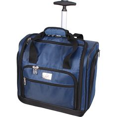 Verdi-Under-the-Seat-Bag-2-Colors-Small-Rolling-Luggage-NEW
