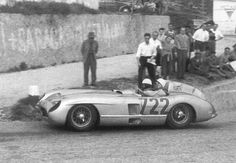 Great shot of 722 in the 1955 Mille Miglia.