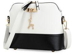 Amazing Chic Leather Shoulder Bag – Bauble Garb