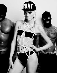 The Adeen Black and White Series Lookbook is Gender-Bending