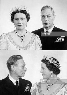 King George VI and Queen Consort Elizabeth Royal Queen, Queen Mary, King Queen, Queen Victoria Family, Queen Victoria Prince Albert, George Vi, Princess Elizabeth, Queen Elizabeth Ii, Prinz Philip