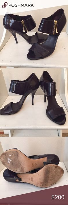 """🚨24 Hour Sale🚨 Eggplant Purple Gucci Heels Only worn a few times these Eggplant heels are to die for! Comfortable and versatile they'll be a great addition to any closet! The heel is 4"""" tall. Gucci Shoes Heels"""