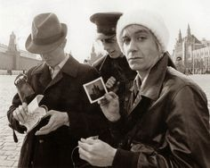 vintage everyday: Rare and Interesting Photos of David Bowie and Iggy Pop in the 1970s